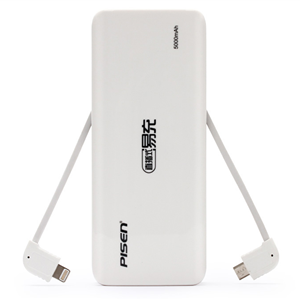 Mobile power  Lnline Easy Power 5000mAh (White)