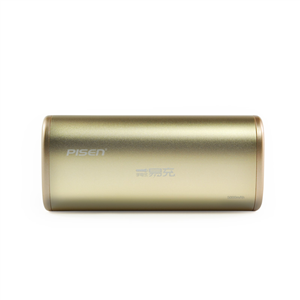 Easy rechargeable  flashlight style 5000mAh (Champagne Gold)